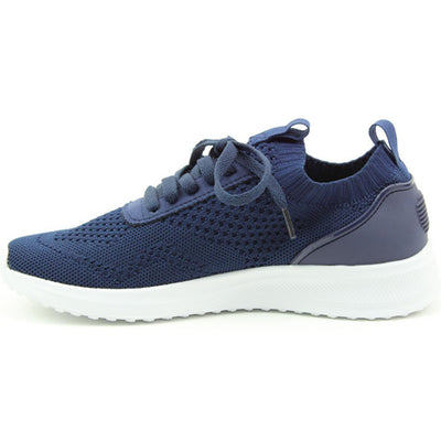 Heavenly Feet Trainers - Poppy - Navy