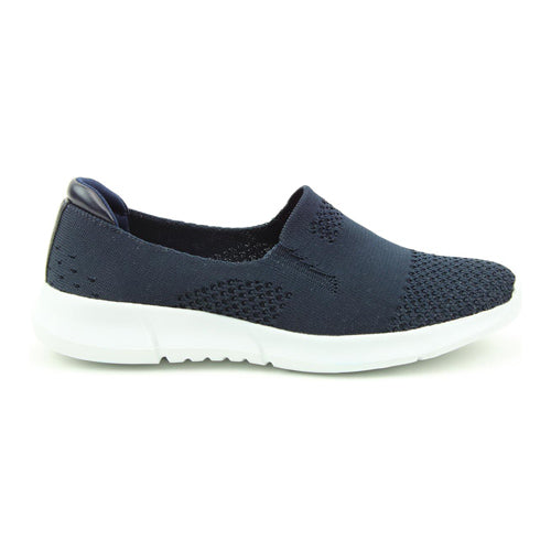 Heavenly Feet Trainers - Holly - Navy