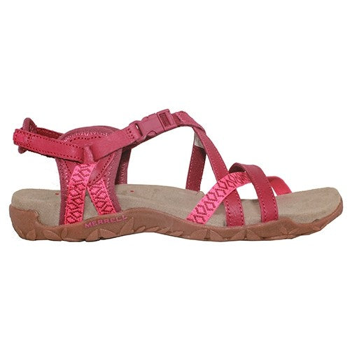 Merrell Ladies Sandals - Terran Lattice - Pink