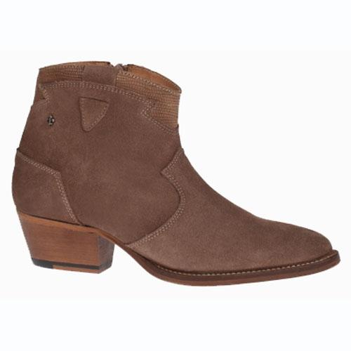 Amy Huberman Ankle Boots - The More the Mr - Brown
