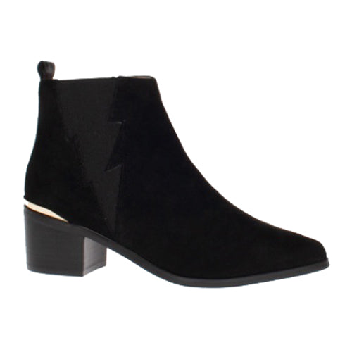 Amy Huberman Ankle Boots - The Princess Switch - Black