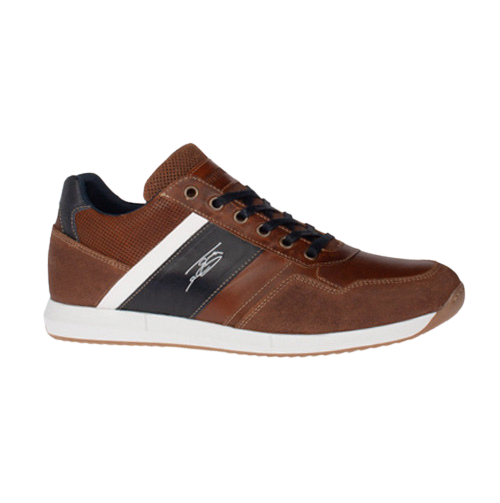 Tommy Bowe Mens Trainer - Toner - Tan