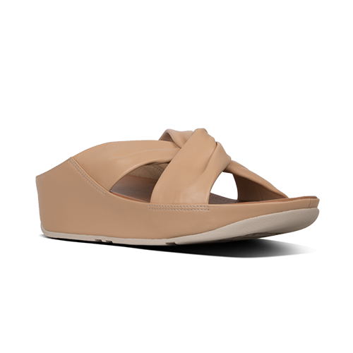 Fitflop Slide Sandals  - Twiss  - Nude