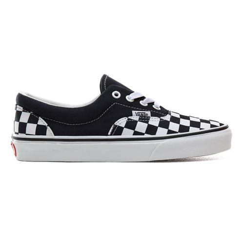 Vans  Classic Skate Shoes - Era Checkerboard - Navy/White