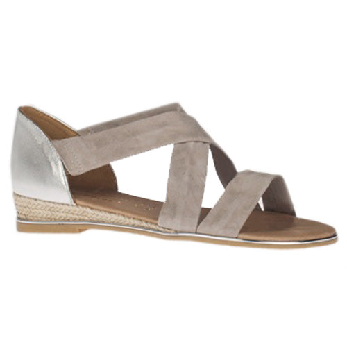 Kate Appleby Low Wedge Sandals - Watling - Grey