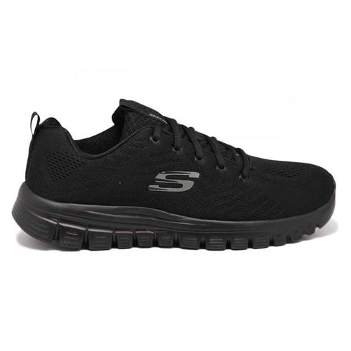 Skecher Trainers - 12615 - Black/Black