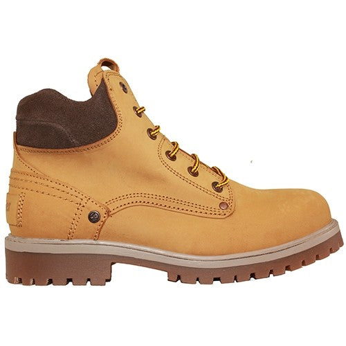 Wrangler Leather 6 Eye Boot - Keane/Yuma - Honey