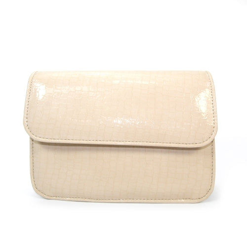 Lunar Clutch Bag - Yolanda - Beige