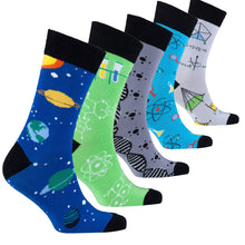 Load image into Gallery viewer, Men's Nerd Socks