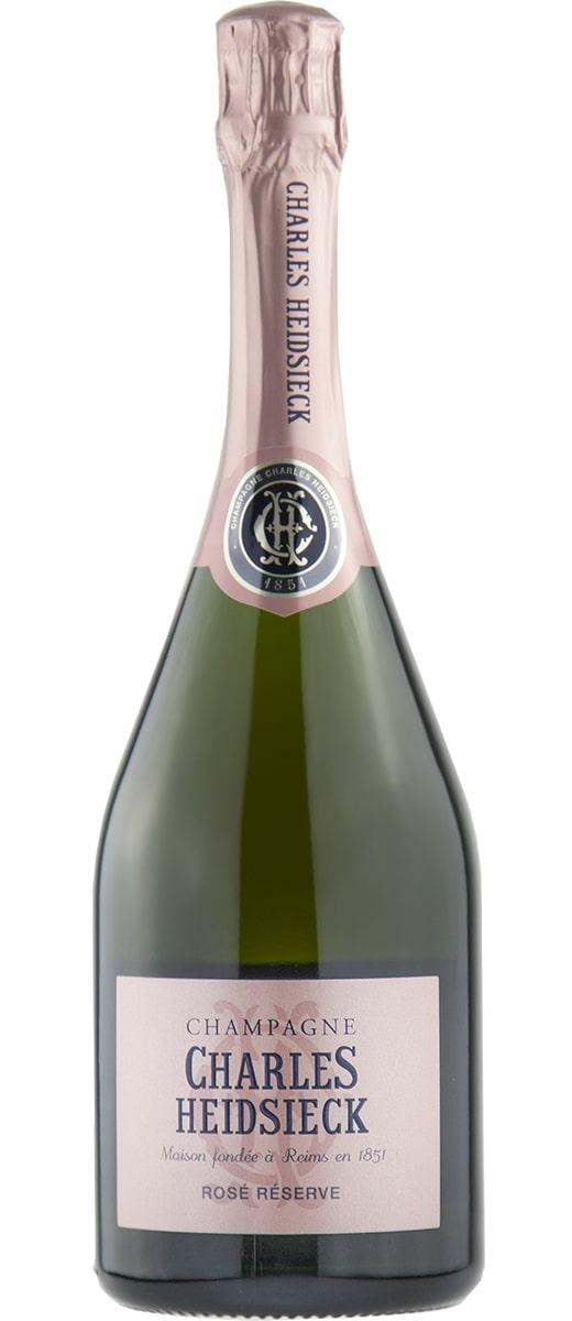 Champagne Rosé Reserve Charles Heidsieck