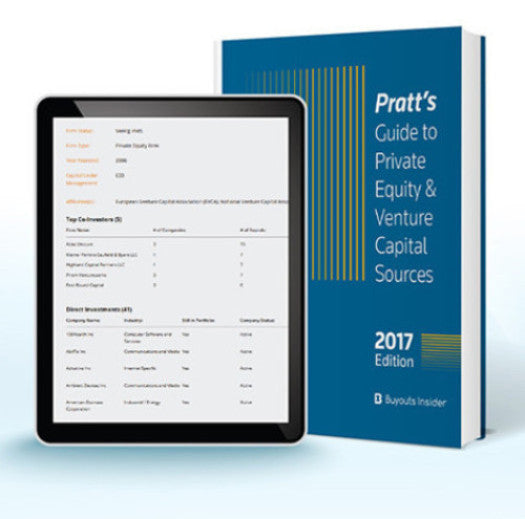 Pratt's Private Equity and Venture Capital Data Leads Sources