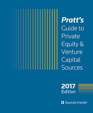Pratt's Guide Private Equity Venture Capital Sources Leads
