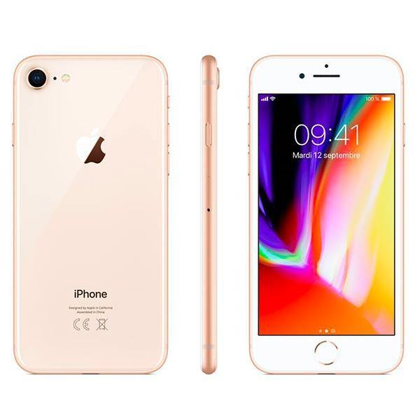 iPhone 8 64 Go couleur or et rose