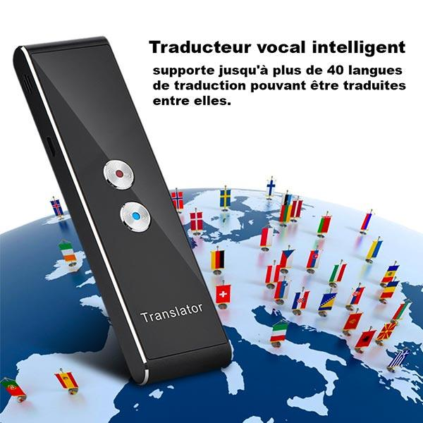 traducteur vocal intelligent et portable Bluetooth