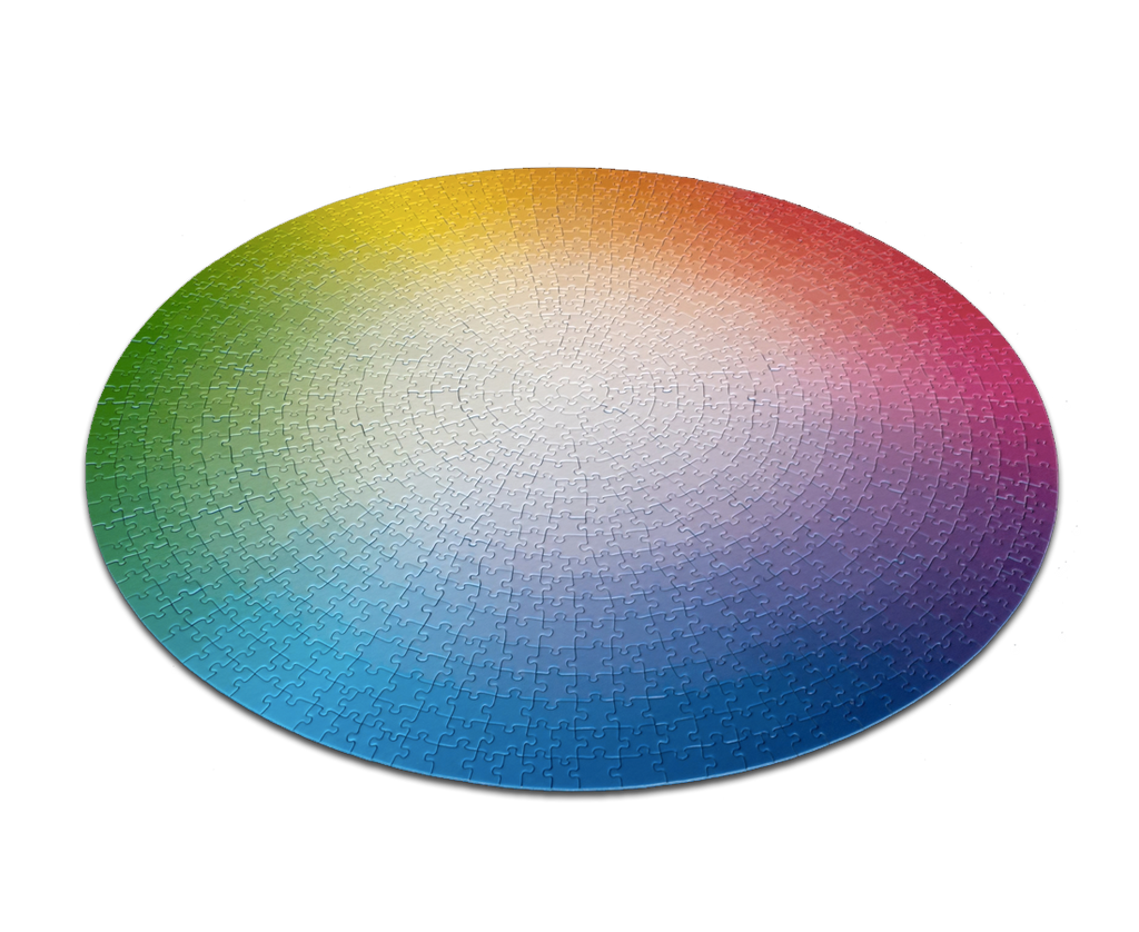 1000 Colors Puzzle Wheel by Clemens Habicht. Compendium Design Store, Fremantle. AfterPay, ZipPay accepted.