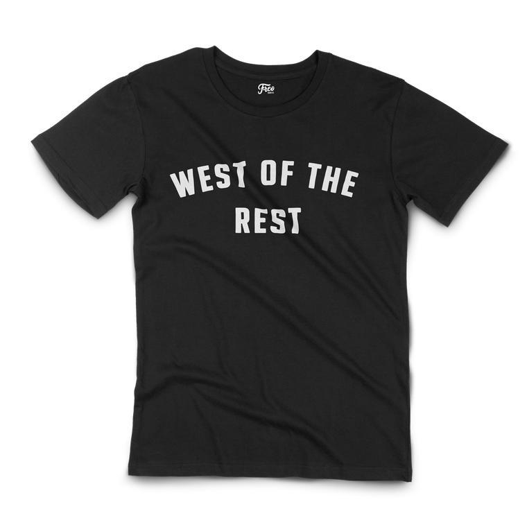 Freo Goods Co 'West Of The Rest' Organic T-Shirt · Mens