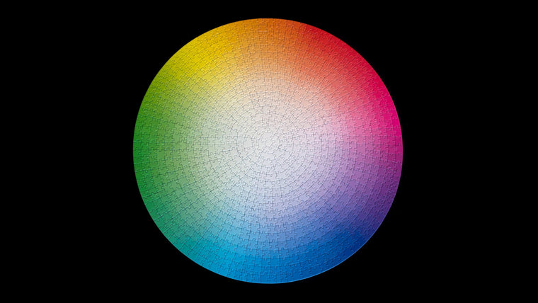 1000 Colors Puzzle Wheel by Clemens Habicht
