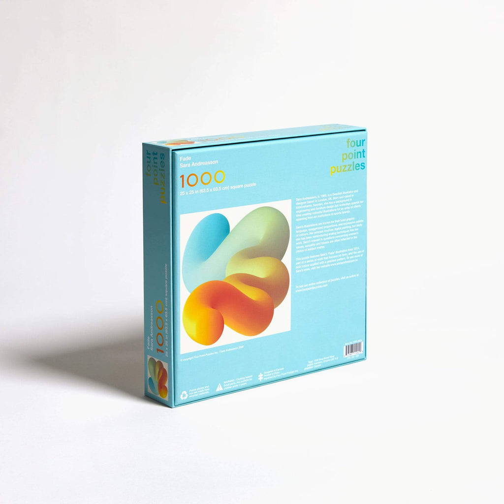 Fade 1000 Piece Puzzle. Compendium Design Store, Fremantle. AfterPay, ZipPay accepted.