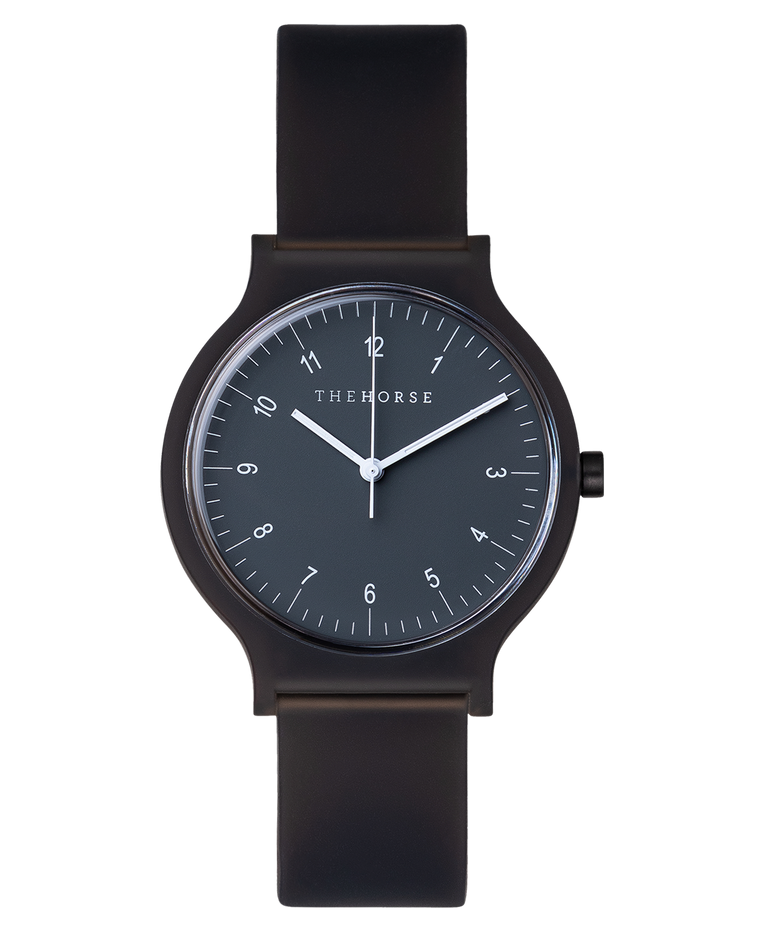 SA1 The Horse Blockout Unisex Watch in Black
