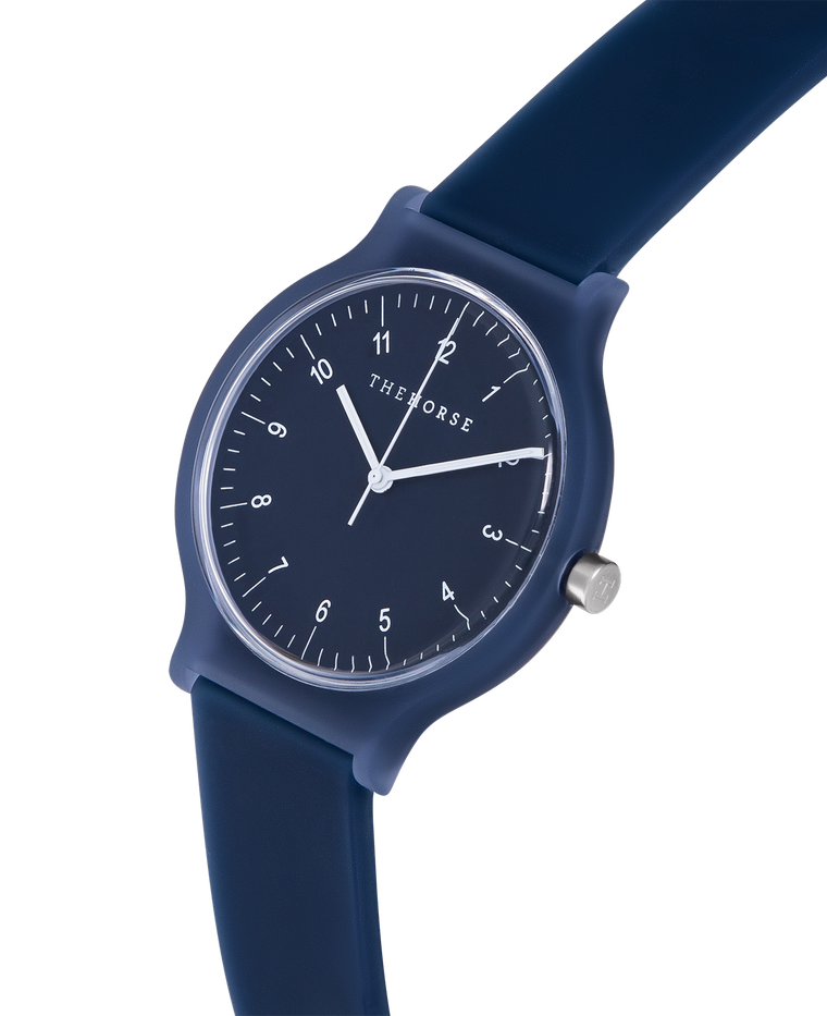 SA5 The Horse Blockout Unisex Watch in Navy