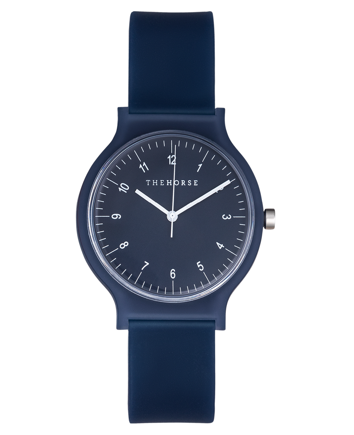 SA5 The Horse Blockout Unisex Watch in Navy. Compendium Design Store, Fremantle. AfterPay, ZipPay accepted.