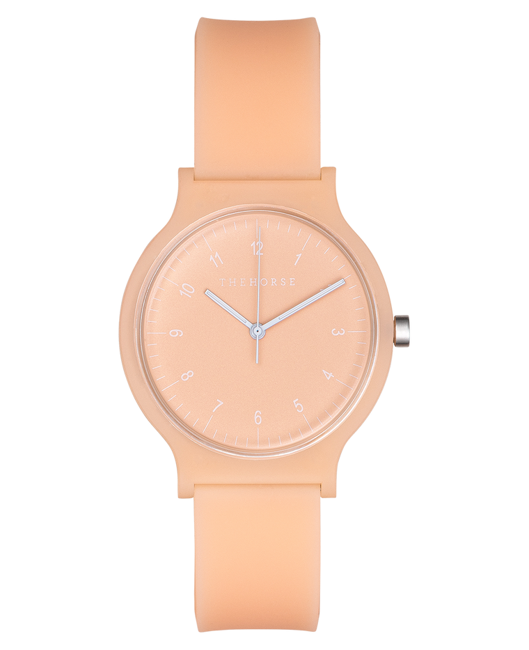 SA6 The Horse Blockout Unisex Watch in Peach