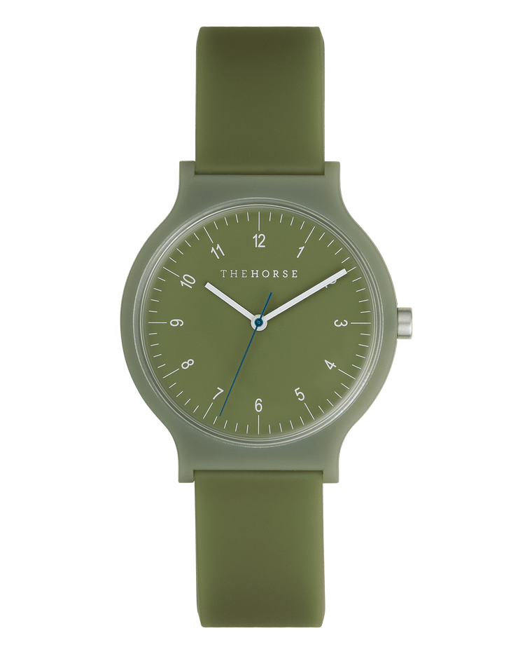 SA9 The Horse Blockout Unisex Watch in Olive Green