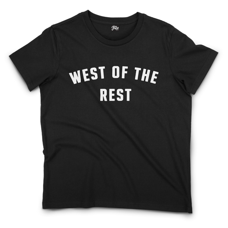 Freo Goods Co 'West Of The Rest' Organic T-Shirt · Womens