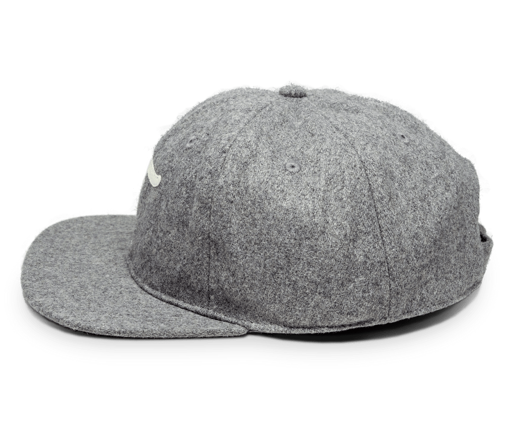 Freo Heritage Ball Cap in Heather Grey. Compendium Design Store, Fremantle. AfterPay, ZipPay accepted.