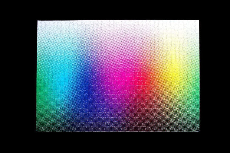 1000 Halftone Colours Puzzle by Clemens Habicht. Clemens Habicht. Compendium Design Store. AfterPay, ZipPay accepted.