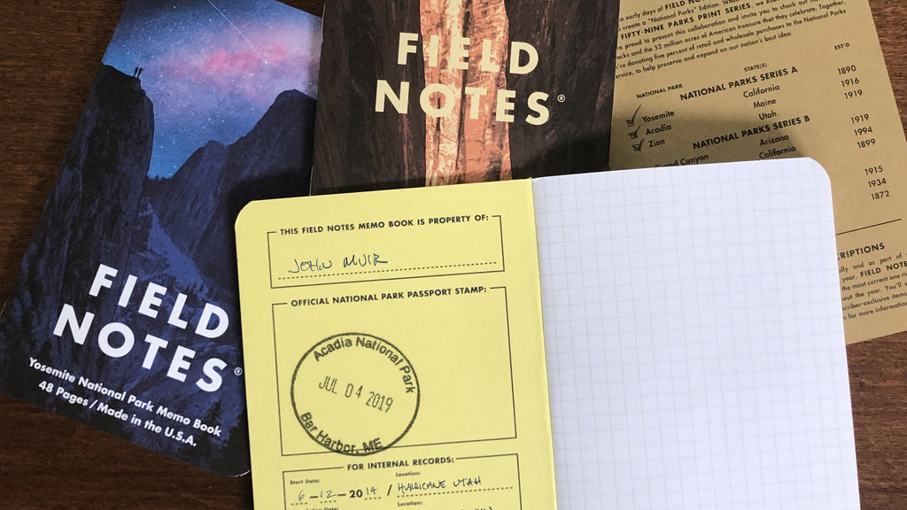 Field Notes Notebooks National Parks Edition · 3-Pack (Graph paper). Compendium Design Store, Fremantle. AfterPay, ZipPay accepted.