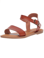 Women's Two Strap Buckle Sandal