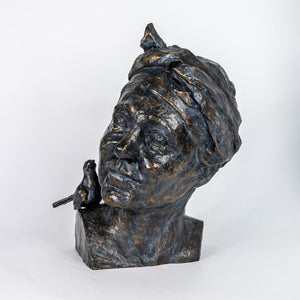 sculpture en bronze