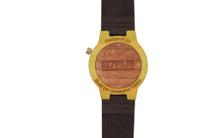 Montre 7PLIS skateboard recyclé #124