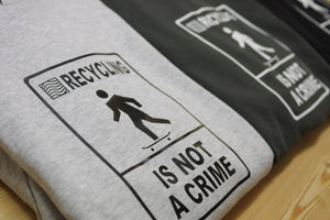 "Sweat 7PLIS ""recycling is not a crime"" - 7PLIS"