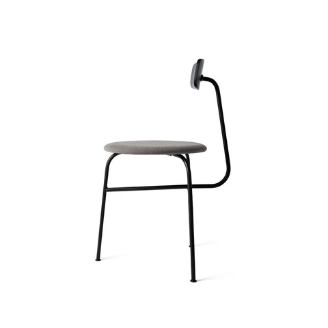 MENU Afteroom Chair Stol Stoppad Padded Black Grey Svart Grå