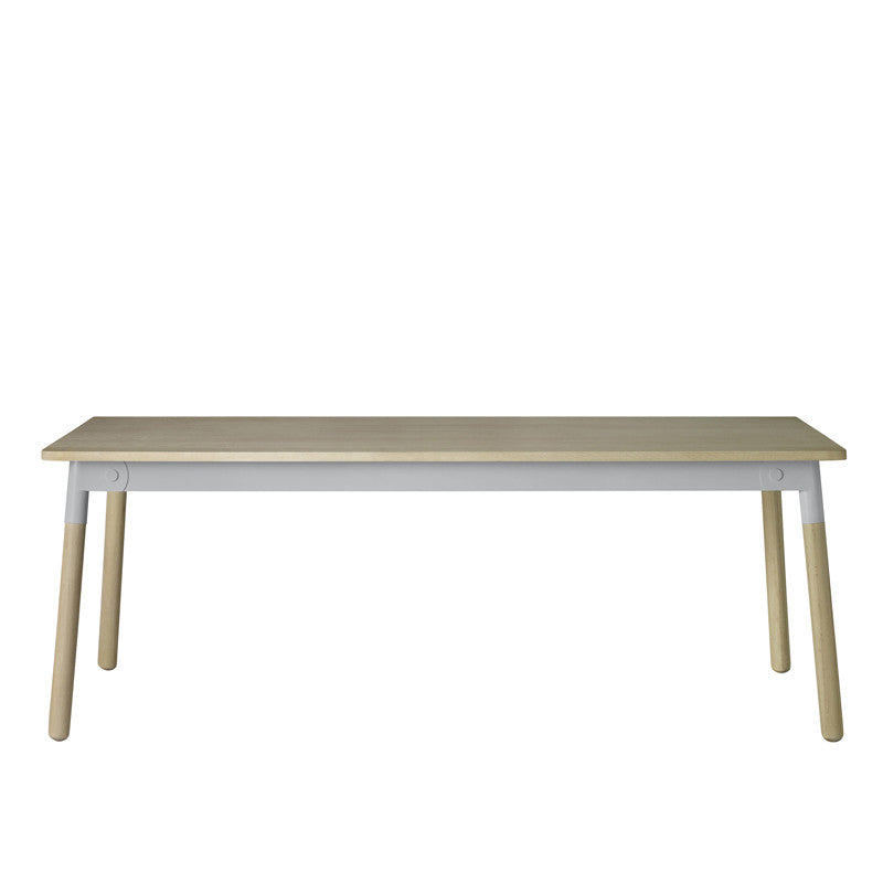 Muuto Adaptable Table Oak/Grey/Oak