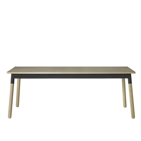 Muuto Adaptable Table Oak/Black/Oak