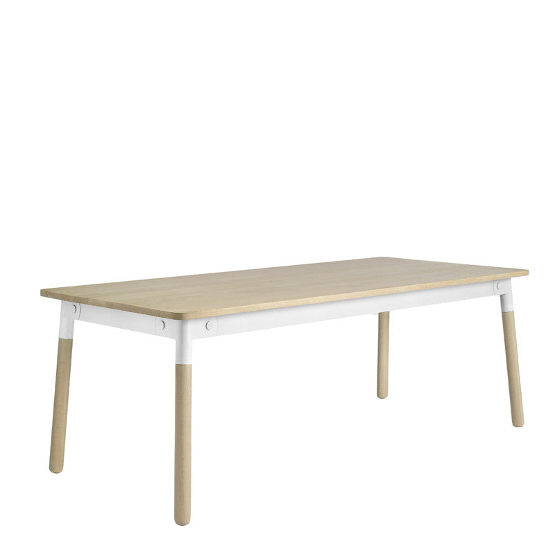 Muuto Adaptable Table Oak/White/Oak