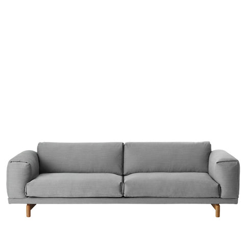 Muuto Rest Sofa 3-sits Steelcut Trio133