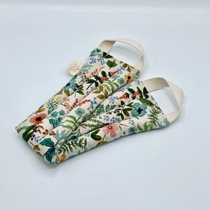 Neck Wrap Therapy Pack - Wildflowers, Folded
