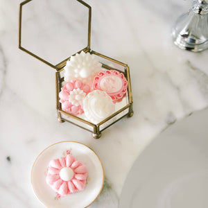 Bathing Brooch Set - Vintage Rose