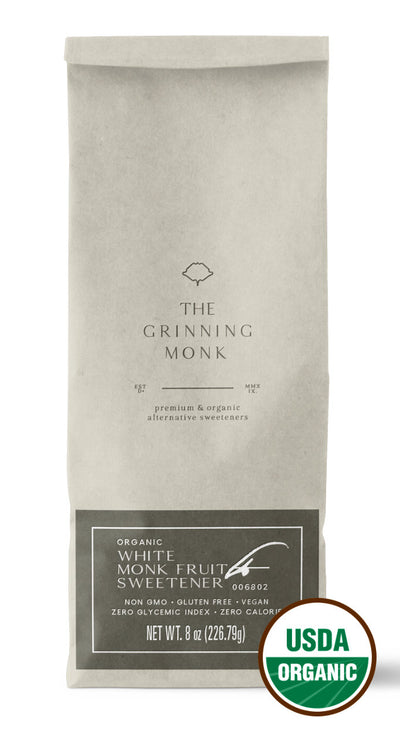 Certified Organic White Monk Fruit Sweetener