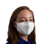 Cotton Mask w/ Antimicrobial Finish - Adult Size