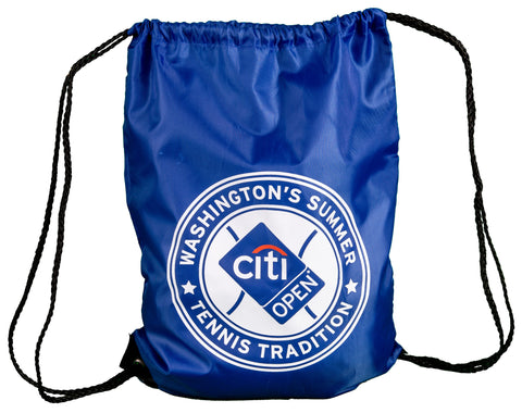 Citi Open Drawstring Bag - Royal