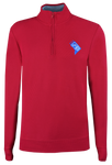 DC State Logo 1/4 Zip - Red
