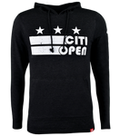 Youth Core Logo Stars & Stripes Lightweight Hoodie - Black