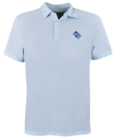 Citi Open Logo Polo - Light Blue