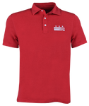 Core Logo Stars & Stripes Polo - Red