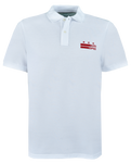 Core Logo Stars & Stripes Polo - White